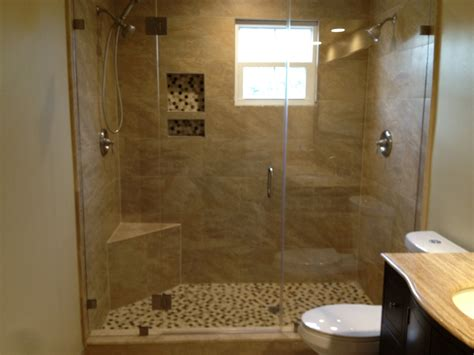 bathroom with glass doors frameless shower glass doors