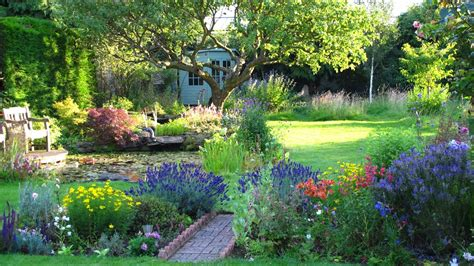 cottage garden  surrey  english country garden