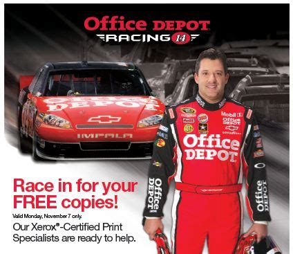 office depot color copies office depot coupon 14 free color copies