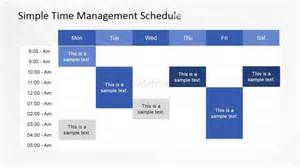 Schedule Template Powerpoint by Daily Time Management Powerpoint Template Slidemodel