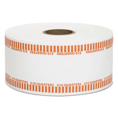 printable quarter coin wrappers automatic coin rolls quarters 10 1900 wrappers roll