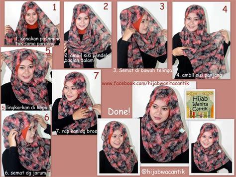 tutorial pashmina cantik hijab tutorial pashmina chiffon hijab wanita cantik