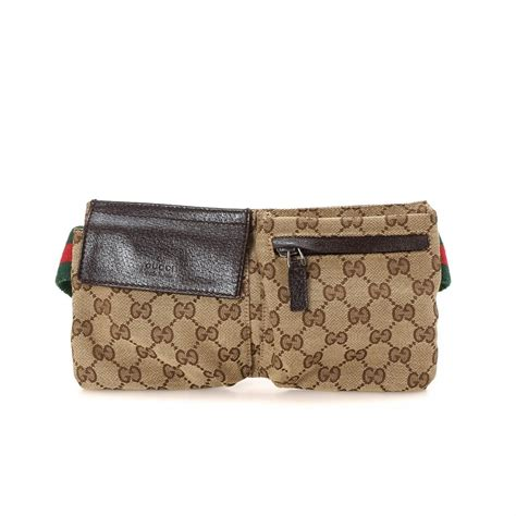 G Ci Bag 1660 gucci gg canvas belt bag gg canvas lxrandco pre owned luxury vintage