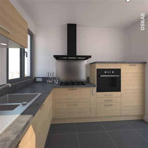 deco cuisine bois clair cuisine en bois clair structur 233 stilo noyer blanchi