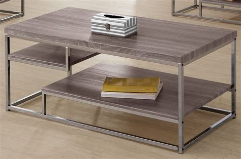 703728 Weathered Grey Coffee Table From Coaster 703728 Weathered Grey Coffee Table