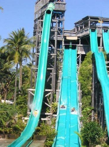 Water Heater Di Bali water slide at water bomb park di bali click to see