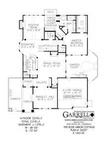 one floor cottage house plans rose arbor cottage house plan craftsman house plans