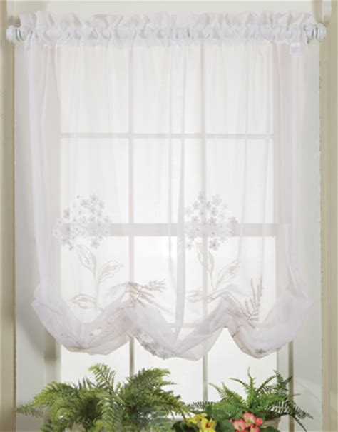 sheer balloon curtains sheer balloon curtains country embroidered balloon shade