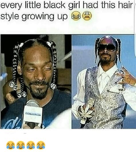 Growing Up Marc Style by Every Black Had This Hair Style Growing Up