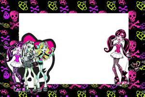 monster high free printable party invitations is it