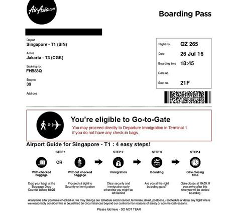 airasia hot boarding pass review of indonesia airasia flight from singapore to
