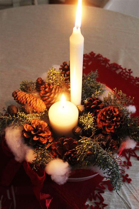 in tavola decorazioni natalizie in tavola il giardino di veca