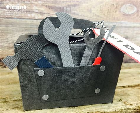 origami tool box s day tool box gift box with free template tutorial