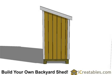 4 X 8 Lean To Shed by Shed Plan Books Cost To Build A 4x8 Shed