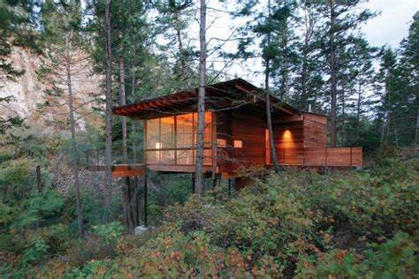 Small Lake Cottage Plans Inspiring Modern Mountain Houses