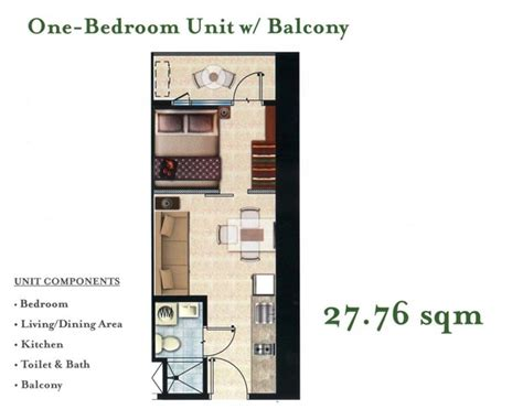 one bedroom units for sale one bedroom units for sale 187 unit plan type d 1 bedroom 46 sq m c view residence