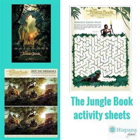 libro friends starter globalactivity book the jungle book free printable activity sheets hispana global