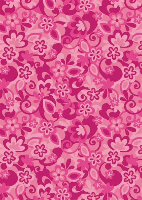 printable pink flowers funky pink flowers scrapbook paper