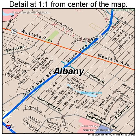 map albany ny albany new york map bnhspine
