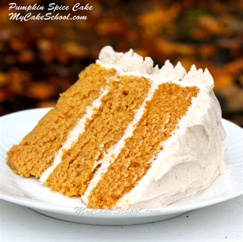 delicious moist pumpkin spice cake recipe from scratch my cake school