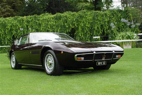 Maserati Ghibli Coupe by Maserati Ghibli Ss Coupe 2003 European Concours D Elegance