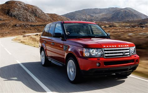 land rover red red range rover wallpaper wallpapersafari