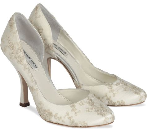 schuhe hochzeit ivory wedding shoes of the day ivory embroidered wedding shoes
