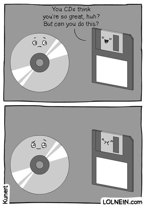 Cd Meme - cd vs floppy disk