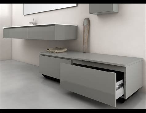 modular bathroom vanity infinity in15 modular italian bathroom vanity in grey