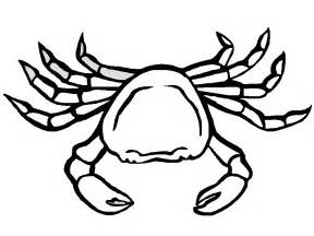 crab colors crab coloring pages