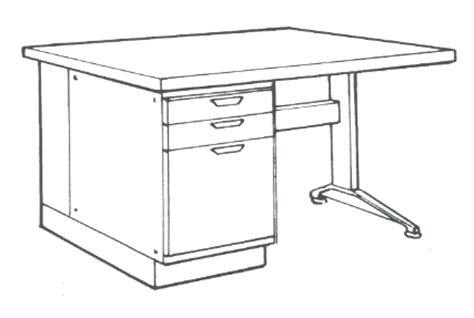 drawing desk how to draw desk