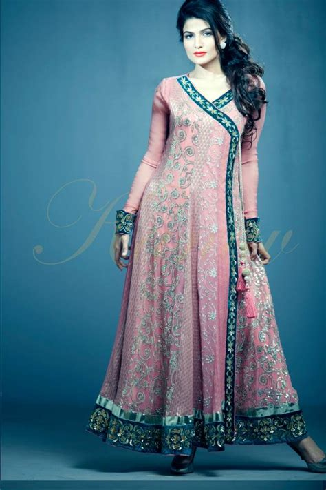 latest party wear frocks dresses 2014 for girls kanav new party wear dresses collection 2014 16