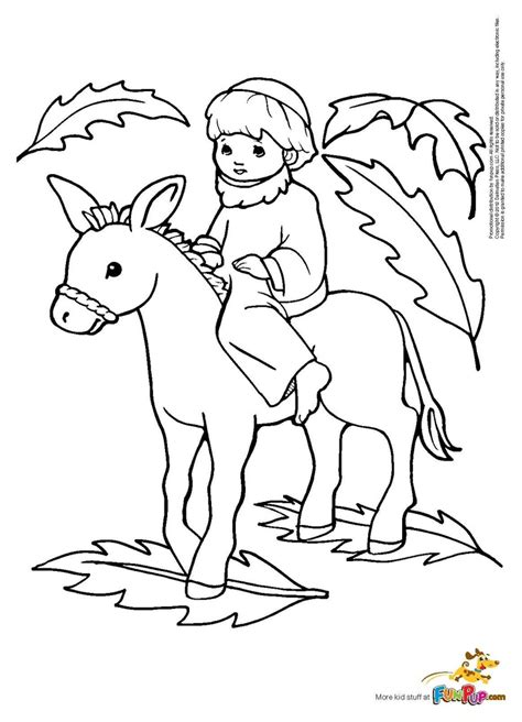 palm sunday coloring page 6 religious coloring pages