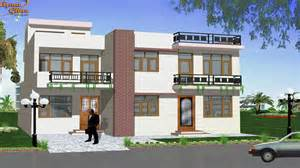 One Story Modern House Plans Small Duplex House Design Duplex House Design Home Design
