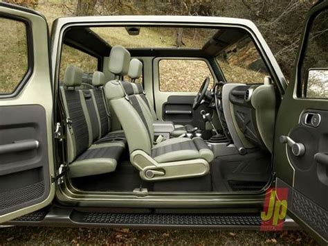 new jeep truck interior breaking updated jeep wrangler pickup confirmed by 2019