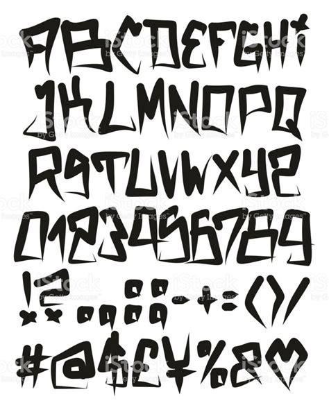 numeros en letra graffiti newhairstylesformen2014 com fuente de vectores freehand horror graffiti fat cap con