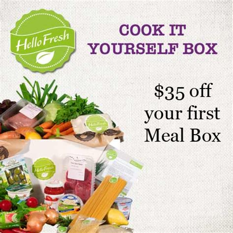 Hello Fresh Gift Card Coupon - hellofresh 35 off free s h mybargainbuddy com