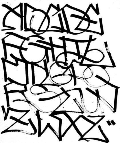 graffiti walls black graffiti alphabet freshness