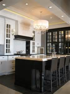 Kitchen Island Black by Black Kitchen Island Contemporary Kitchen Airoom