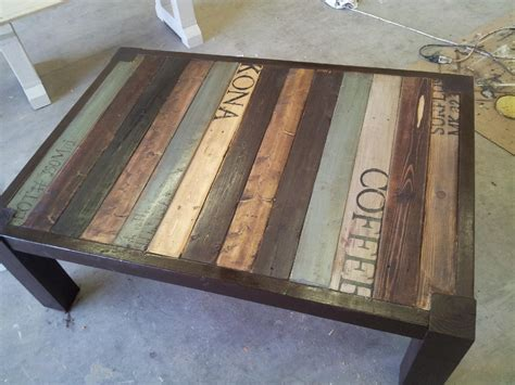 Painted Pallet Coffee Table Pallet Coffee Table Gallery Pallet Furniture