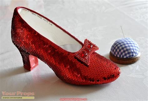 ruby slipper socks the wizard of oz replica ruby slippers replica costume