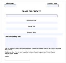 Free company share certificate template gallery certificate company share certificate template download image collections limited company share certificate template free resume pdf download yadclub Image collections