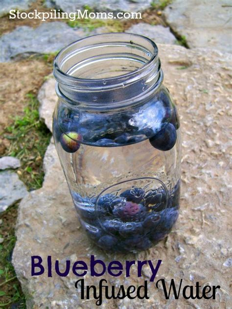 Blueberry Detox Water by Blueberry Infused Water
