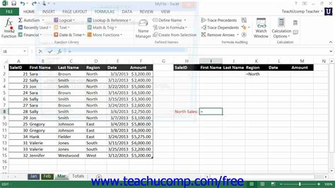 Tutorial Using Excel As A Database | excel 2013 tutorial using database functions microsoft