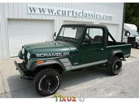 jeep scrambler for sale jeep cj8 scrambler sale mitula cars