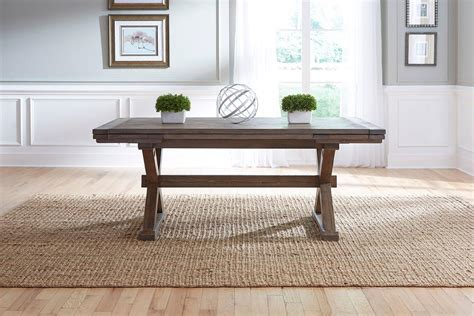 Becker Furniture Woodbury by Furniture Foundry Eight Rustic Dining Set