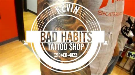 bad habits tattoo kevin bad habits studio