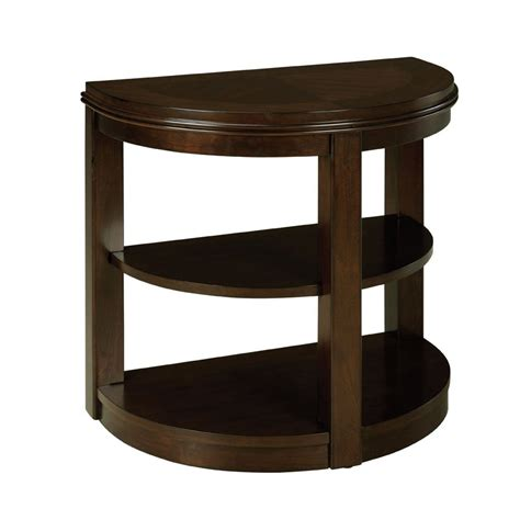 Half Moon Side Table Standard Furniture Spencer Half Moon Chair Side Table In Cherry Beyond Stores