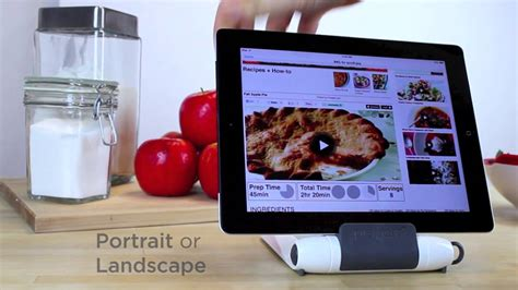 support tablette pour cuisine support pour tablette i prep sp 233 cial cuisine