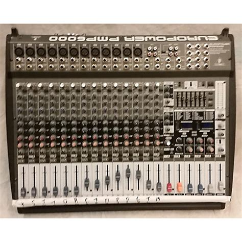 Mixer Behringer Pmp6000 used behringer pmp6000 powered mixer guitar center